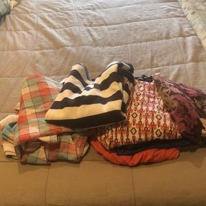 Bundle of size medium tops